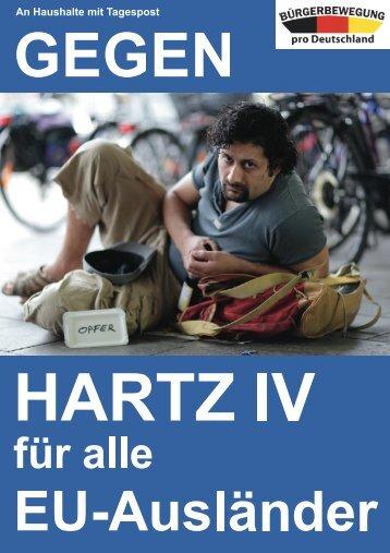 H ARTZ I V - Bürgerbewegung pro Deutschland