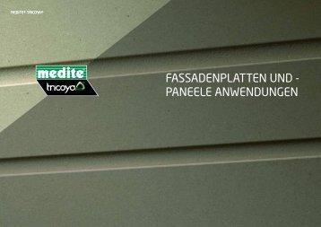 Medite Tricoya - Fassadenplatten und Paneele