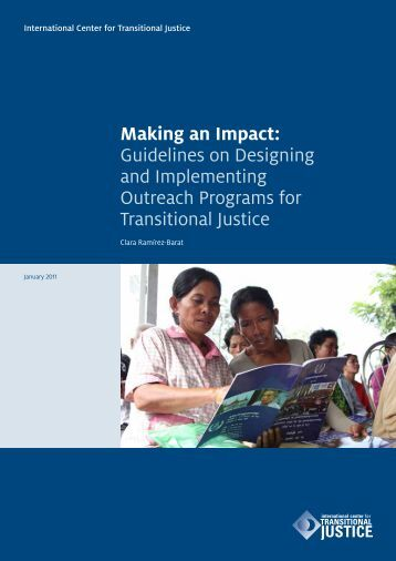 Making an Impact - International Center for Transitional Justice