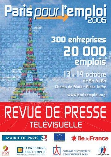 C - REVUE DE PRESSE TV 20-21 - Carrefour Emploi
