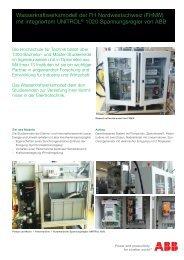 Wasserkraftswerksmodell FHNW (PDF)