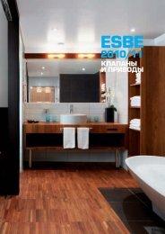 каталог ESBE - Алюминиевые конструкции и входные группы