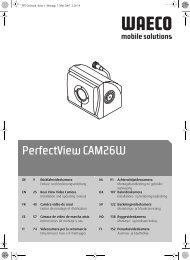 PerfectView CAM26W - Waeco