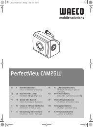 PerfectView CAM26W - Waeco