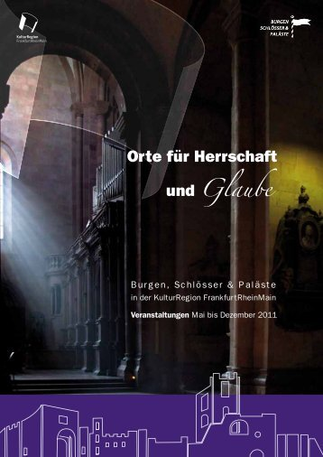 Orte für Herrschaft und Glaube - DarmstadtNews.de