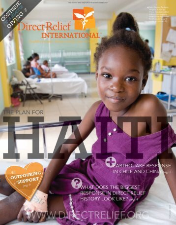 2010 Spring Newsletter - Direct Relief