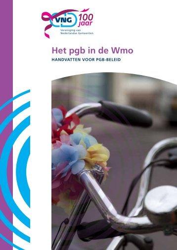 Het pgb in de Wmo - Vereniging van Nederlandse Gemeenten