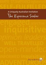 Experience Seeker Fact Sheet - Tourism Australia