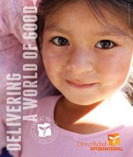FY2012 Annual Report - Direct Relief