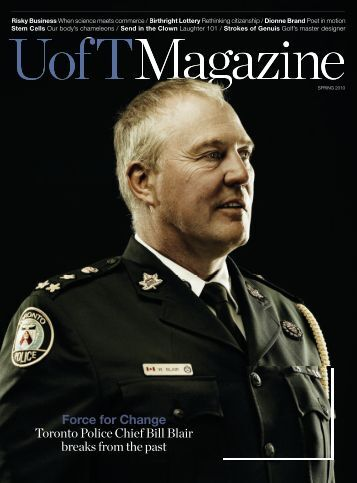 7 MB - University of Toronto Magazine