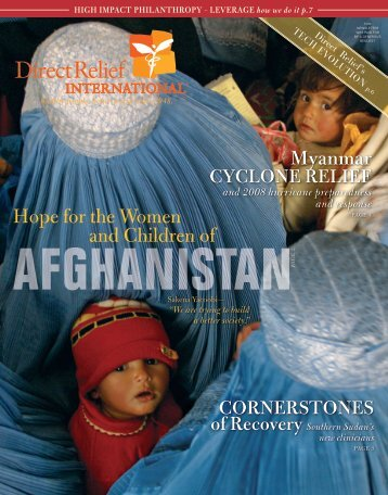 2008 Fall Newsletter - Direct Relief International