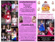 Candyland Pageant Sunday October 2nd - Miss All Canadian ...