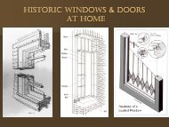 Historic Windows and Doors at Home Presentation by Neal Vogel