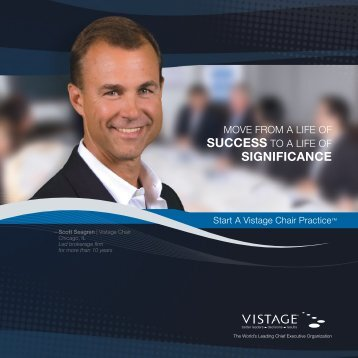 Chair Brochure - Vistage