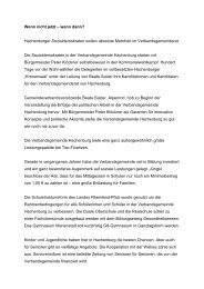 Pressemitteilung für Westerwälder Zeitung Kandidaten
