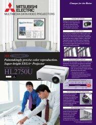 Product Brochure - Mitsubishi Electric Sales Canada Inc.