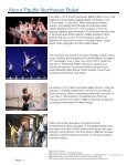 Pinocchio Study Guide - Pacific Northwest Ballet - Page 4