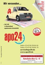 ab € 4,98 - Apotheke 2u