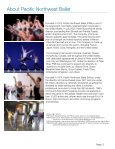 Pinocchio - Pacific Northwest Ballet - Page 3