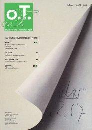 Julia Horstmann - Das Magazin für Kunst, Architektur und Design