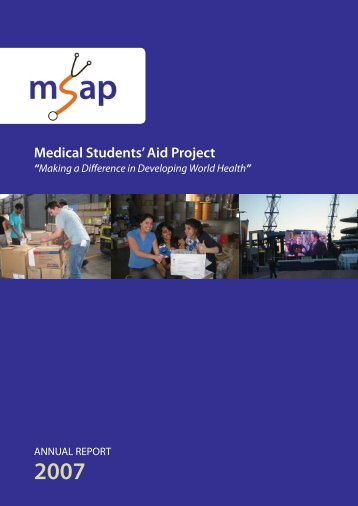 MSAP Annual Report 2007 r20.indd - University  of New South Wales