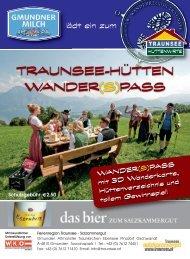 Traunsee Hütten Wander(S) - Gmundner Milch