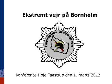Ekstremt vejr på Bornholm - primo