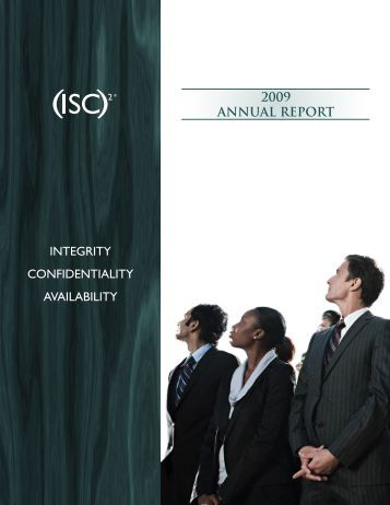 2009 Annual Report - ISC
