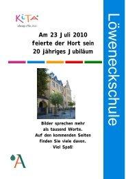 Am 23 Juli 2010 feierte der Hort sein 20 jähriges Jubiläum Bilder ...