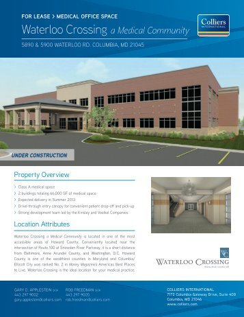 Waterloo Crossing a Medical Community - Hearn Burkley