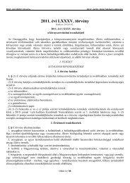 2011. évi LXXXV. törvény - Electro-Coord