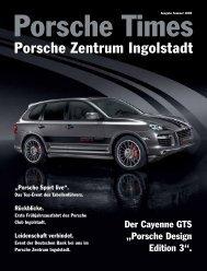 Erleben Sie neue Gefühle - Porsche Zentrum Ingolstadt