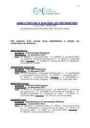 du 25 novembre 2011 au 29 février 2012 - Timone.univ-mrs.fr