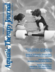 Swimming and Aquatic Therapy for Ostomates - United Ostomy ...