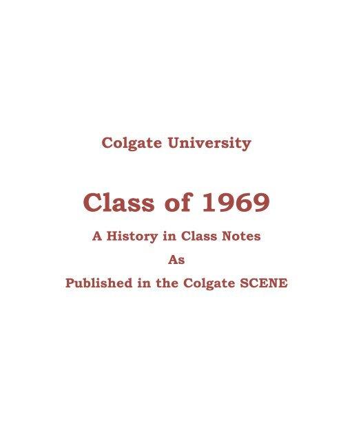 Class Of 1969 Alumni