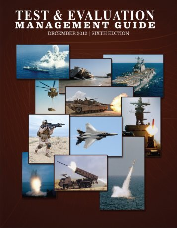 DoD Test and Evaluation Management Guide - Dec ... - AcqNotes.com