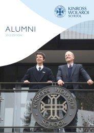 KWS Alumni Magazine 2013 Edition - Kinross Wolaroi School