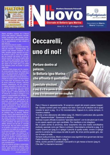 Ceccarelli, uno di noi! - Il Nuovo