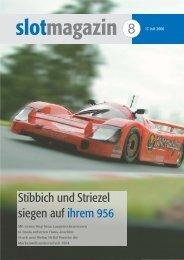 Stibbich und Striezel siegen auf ihrem 956 - SPEED IS LIFE