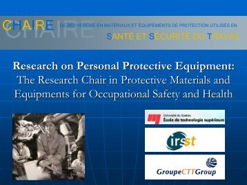 Research on Personal Protective Equipment - The Institute of Textile ...