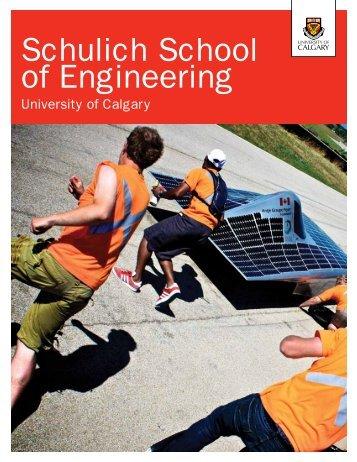 Schulich School of Engineering - University of Calgary
