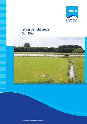 Jahresbericht 2012 Der Rhein - Riwa