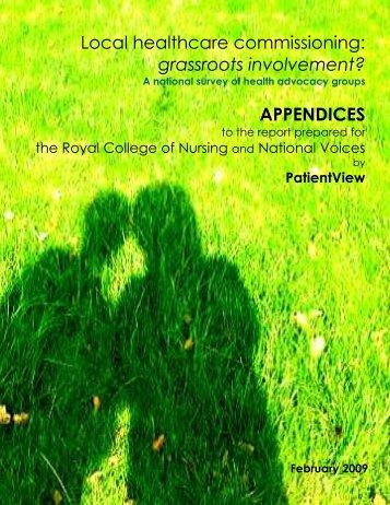 RCN NV Appendix - Ldnresearchtrustfiles.co.uk