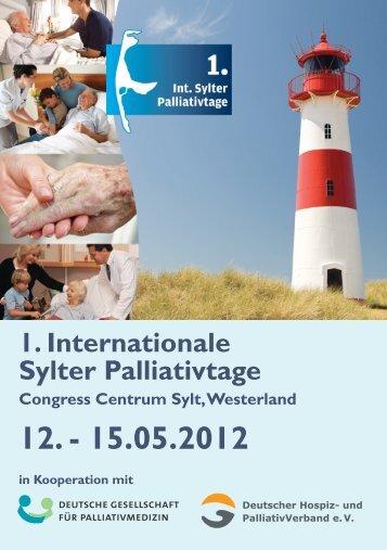 1. Internationale Sylter Palliativtage - Palliativtage-sylt.de