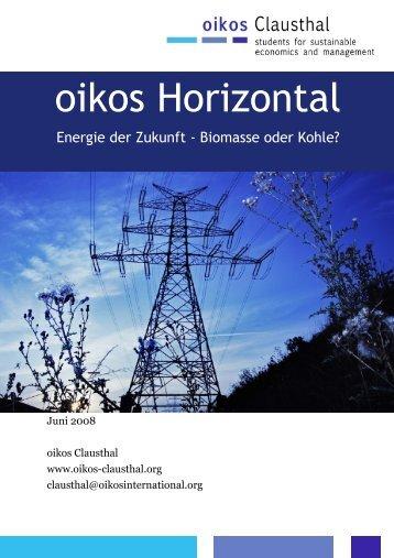 oikos Horizontal - oikos Clausthal