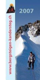www .bergsteigen-kandersteg.ch