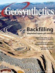 Geosynthetics, April May 2010 - Specialty Fabrics Review