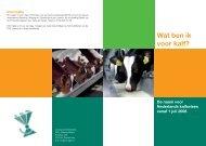 Folder Kalfsvleesdefinitie - Productschappen Vee, Vlees en Eieren