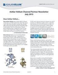 Ashlar-Vellum Channel Partner Newsletter July 2013 - the Ashlar ...