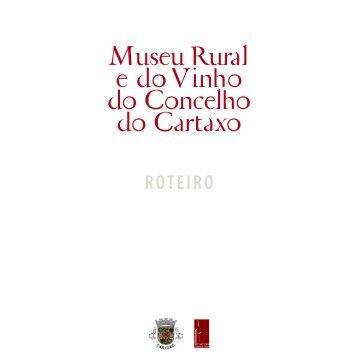 Museu Rural e do Vinho do Concelho do Cartaxo - Câmara ...